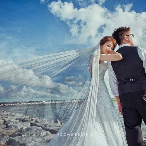 國際通,新原海灘,美國村,海外婚紗,婚紗攝影