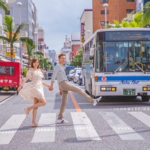 沖繩婚紗,波上宮,海外婚紗,國際通