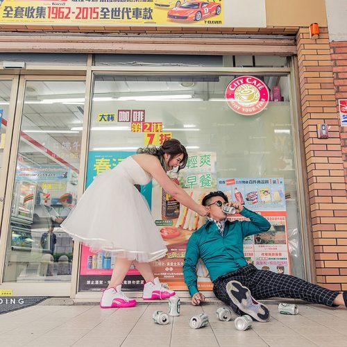 婚紗側錄,西門町,台北街景,婚紗攝影