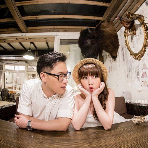 三芝公雞咖啡廳,不厭亭,婚篩攝影