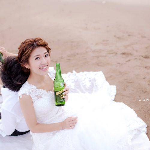 婚紗側錄,婚紗攝影,海邊,攝影師