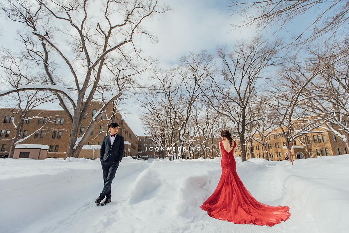 海外婚紗,支笏湖,北海道街景,北海道大學,稻荷神社