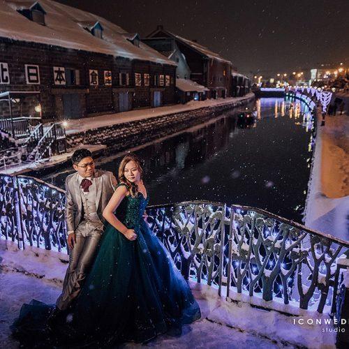 婚紗側錄,海外婚紗北海道,稻和神社,鴨之川,豐平館