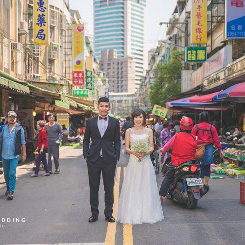淡水漁人碼頭,全聯,傳統市場,自助婚紗,拍婚紗