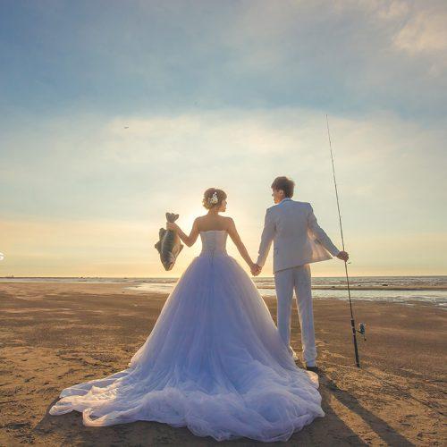 拍婚紗,兒童新樂園,湯姆熊,婚紗攝影,婚紗側錄