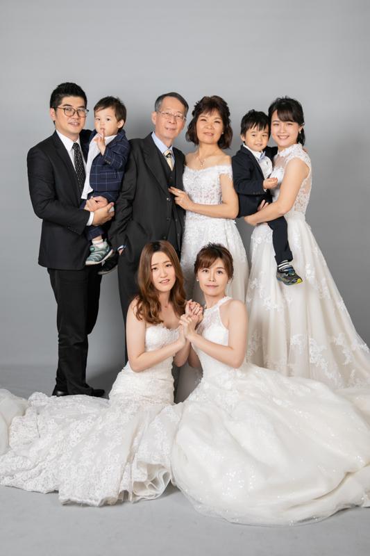 全家福|帶爸媽再次回溫婚紗照的全家福