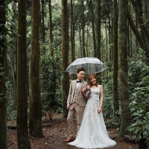 拍婚紗|黑森林。關渡宮