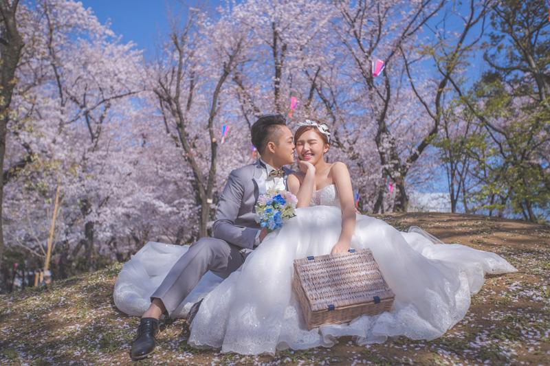 拍婚紗|海外婚紗東京