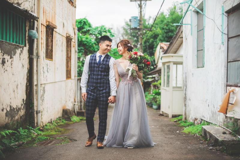 拍婚紗|北投博物館。中心新村
