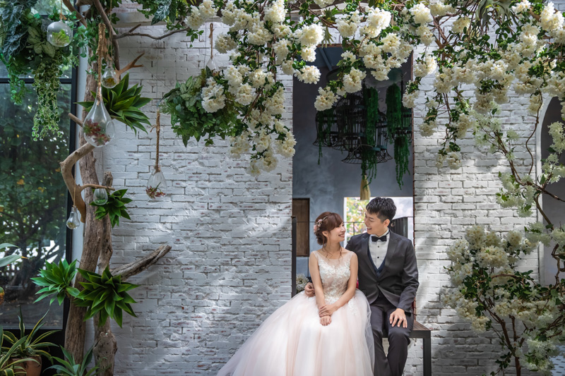拍婚紗|愛情符號棚內。淡水莊園