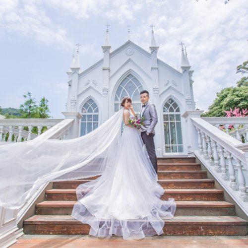 拍婚紗|淡水莊園