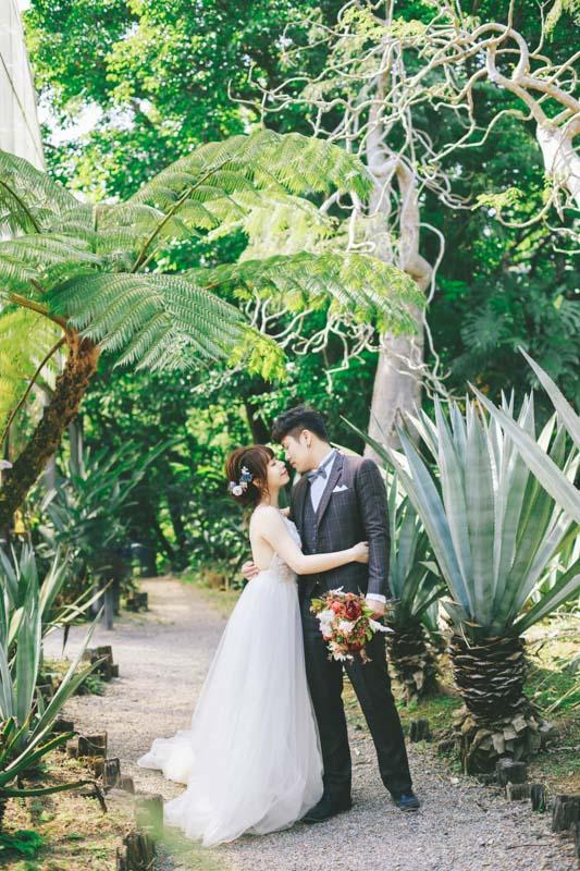 婚紗攝影, 拍婚紗, 綠世界仙人掌, 街拍